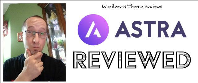 Astra WordPress theme review by Farmer Jer
