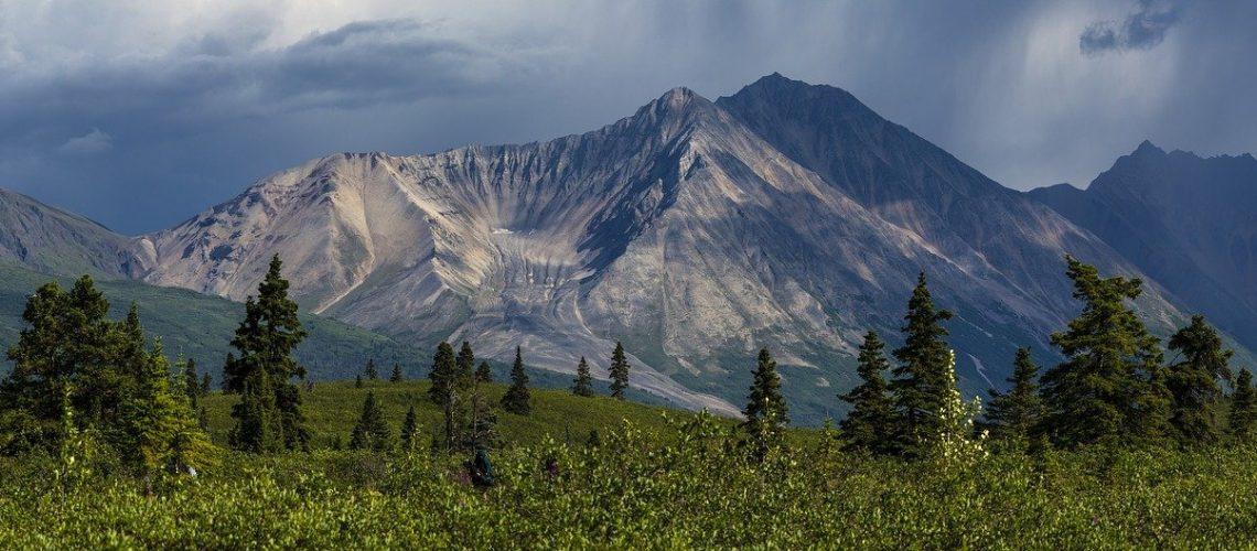 Porphyry Mountain in Alaska - A Symbol of Alaskan Strength