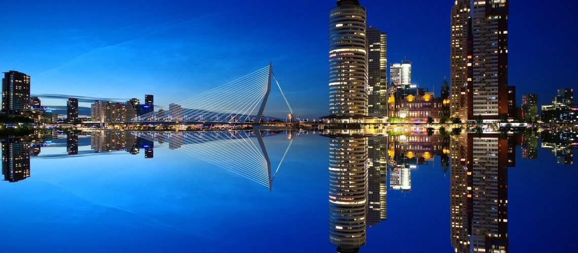 Rotterdam skyline, a beautiful image that inspires all kinds of ideas for content.